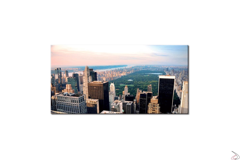 Quadro moderno con stampa digitale di Central Park