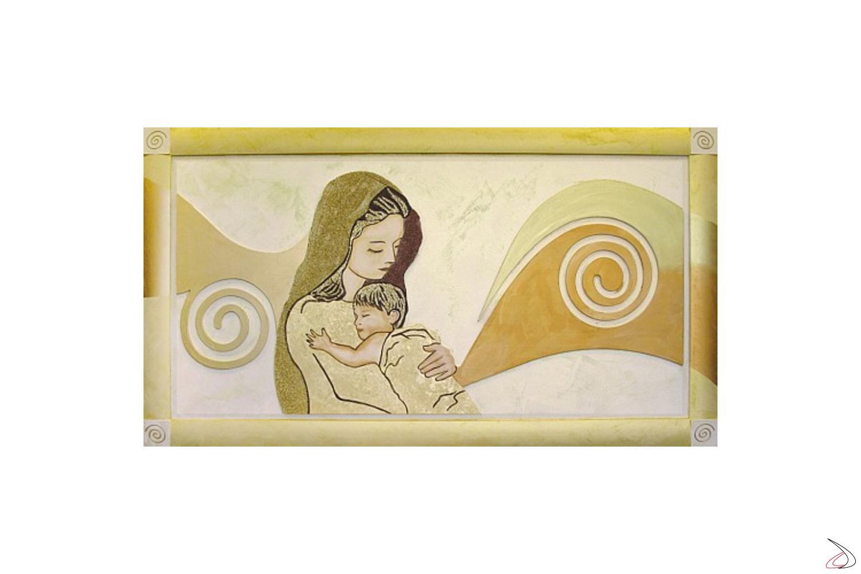Quadro Maria in finitura oro