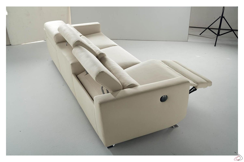Cirillo electric recliner sofa toparredi arredo design for Divano elettrico