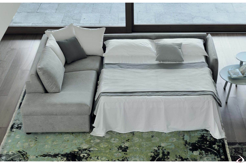 Letto Ad Angolo Matrimoniale.Alvise Sofa Bed With Chaise Lounge Toparredi Arredo Design Online
