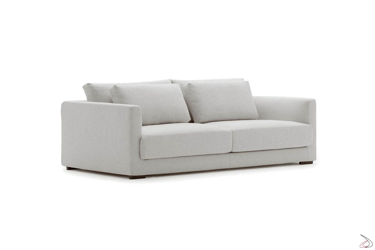 Divani 2 Posti Moderni.Pluffy Sofa With Double Backrest Toparredi Arredo Design Online