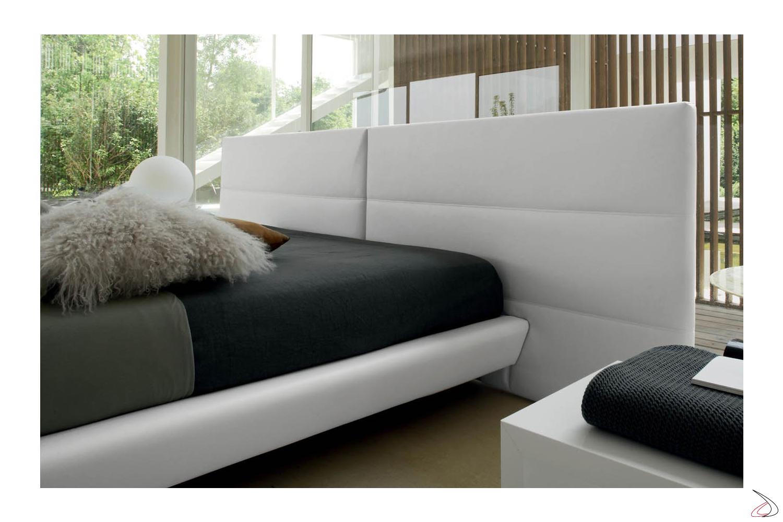 Testata Letto Moderno.Design Bed With Wide Cosimo Headboard Toparredi Arredo Design