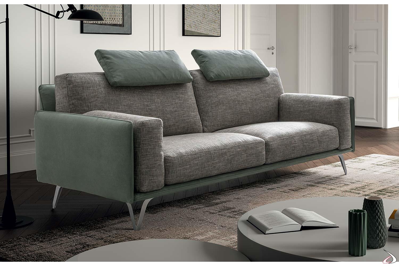 Divano viennetta elegante ergonomico e made in italy for Divano 4 metri