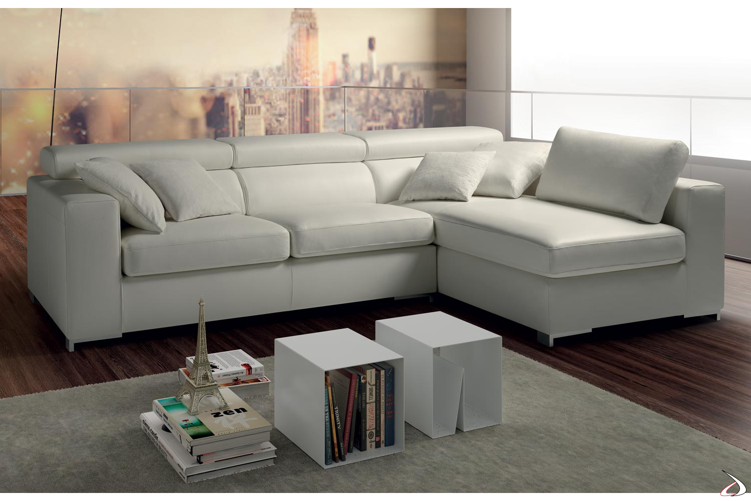 Divano A Angolo In Pelle.Peninsula Sofa And Clint Removable Seats Toparredi Arredo