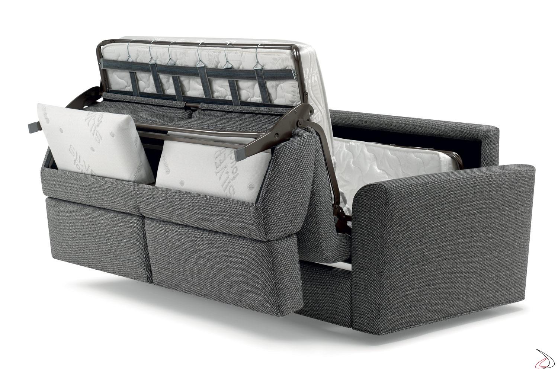Divano Letto Francese.Attis Convertible Two Seater Sofa Toparredi Arredo Design Online