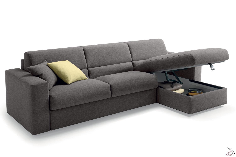 Divano Letto L.Laxy Sofa Bed And Storage Peninsula Toparredi Arredo Design Online