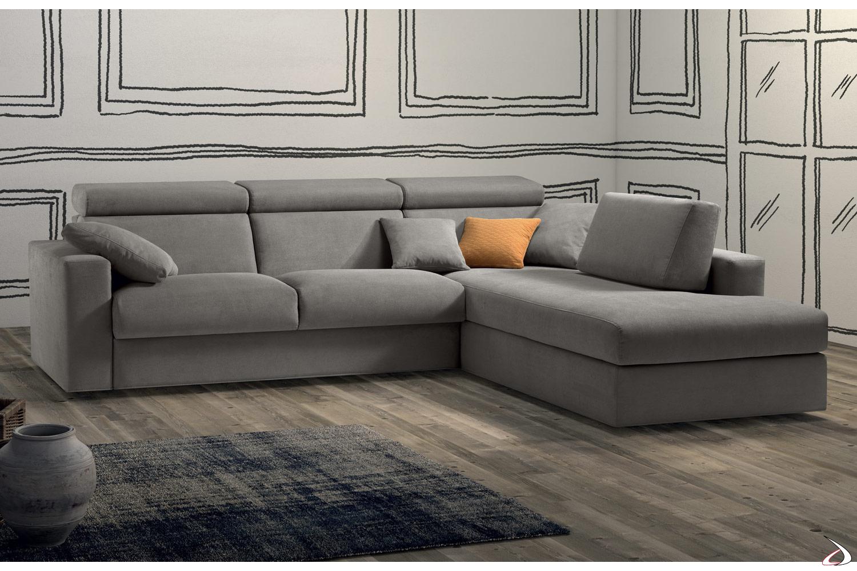 Divani Letto Ad Angolo Moderni.Sofa Bed With Riftac Peninsula Toparredi Arredo Design Online