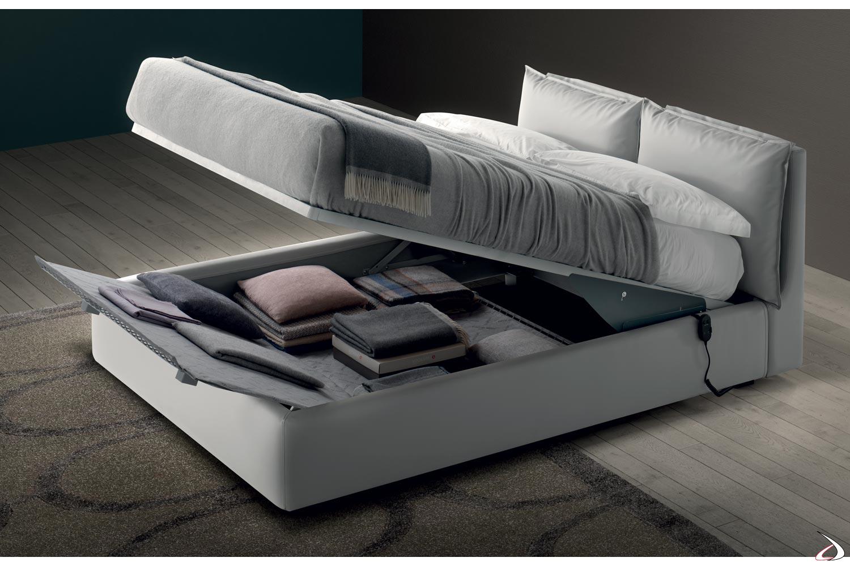 Letto Con Contenitore Letto.Guncia Modern Upholstered Bed Toparredi Arredo Design Online