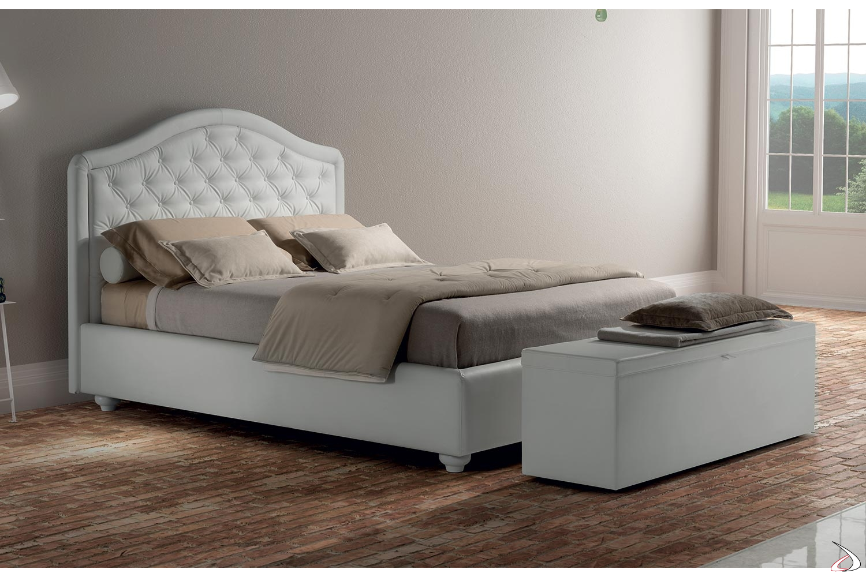 Letto Classico Con Contenitore.Fabia Quilted Bed With Quilted Headboard Toparredi Arredo