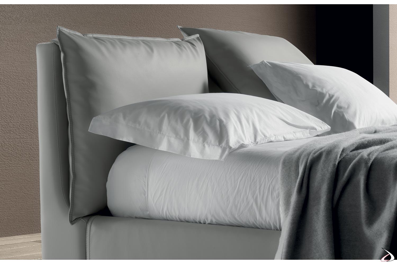 Letto Contenitore Con Cuscini.Guncia Modern Upholstered Bed Toparredi Arredo Design Online