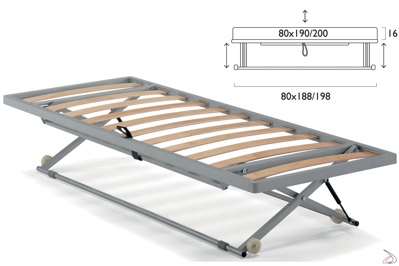 Rete estraibile Doli per divano letto moderno