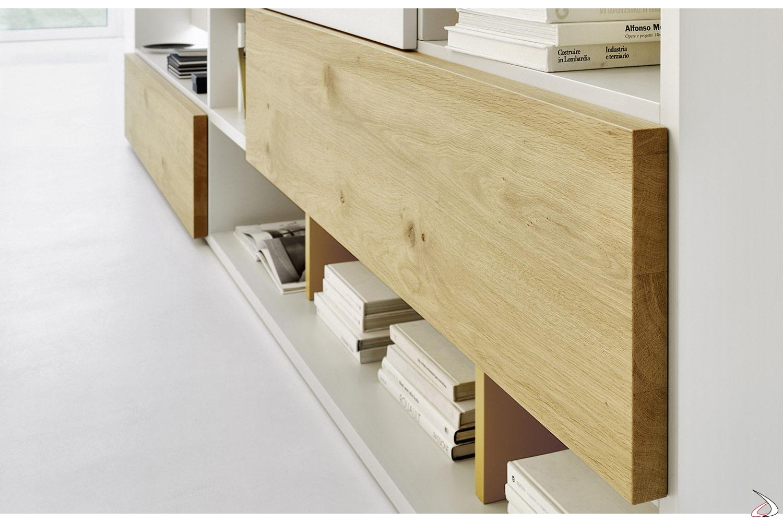 bookcase's flap doors