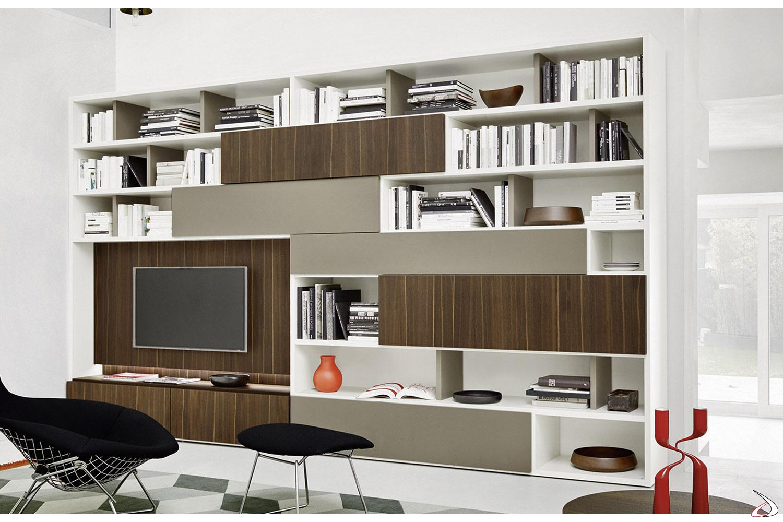 Wooden design bookcase