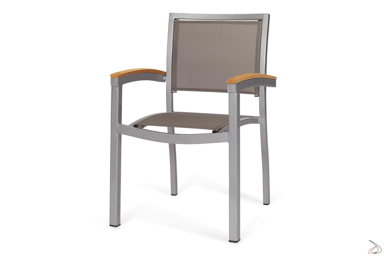 Sedie Da Esterno Con Braccioli.Odissea Modern Outdoor Chair Toparredi Arredo Design Online