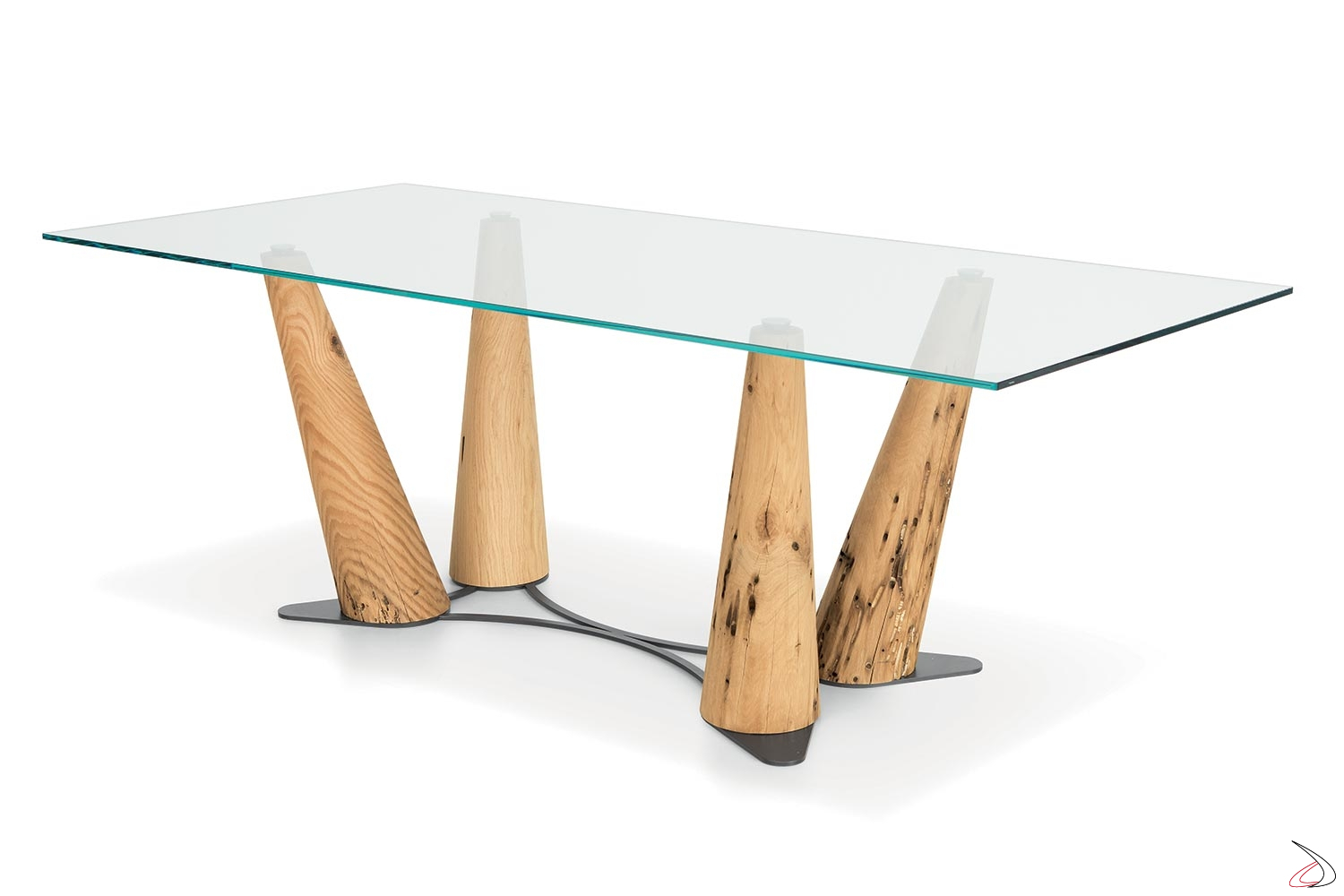 Tavolo Rettangolare In Vetro.Gondola Table Contemporary Furniture With A Sophisticated Design