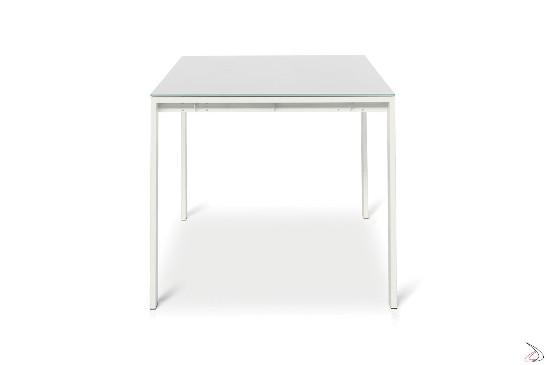 Tavolo Cucina Allungabile Vetro.Extendable Living Room Table With Modern Sangy Design Toparredi