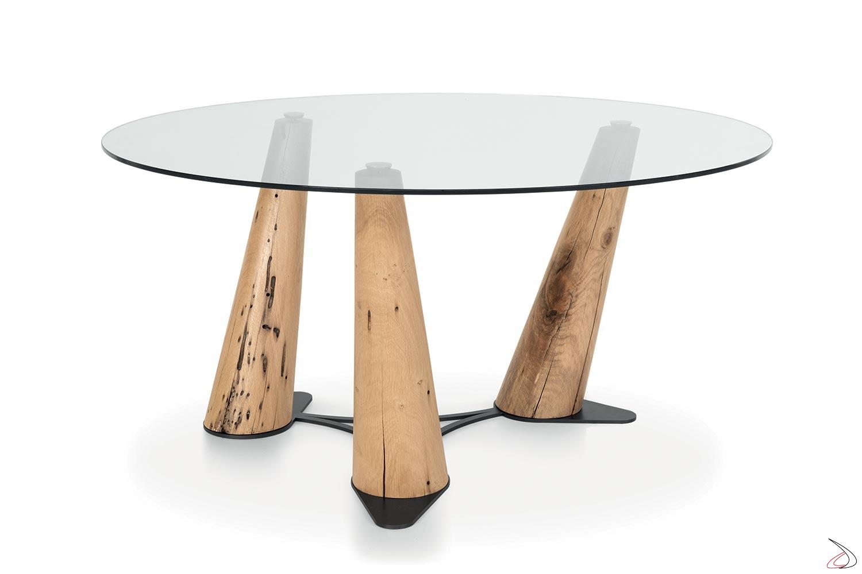 Tavolo Tondo In Vetro.Gondola Table Contemporary Furniture With A Sophisticated Design