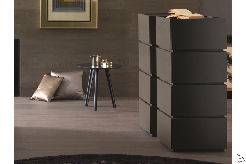 Settimino moderno componibile per camera da letto