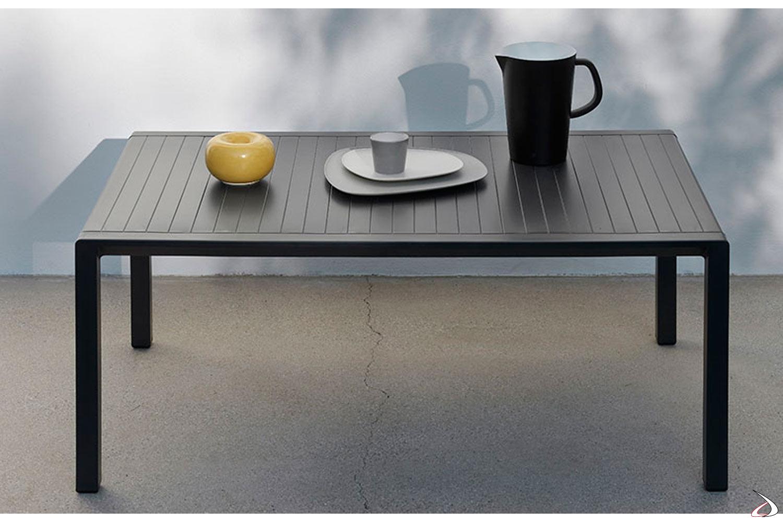 Tavolino basso di Nardi modello Aria