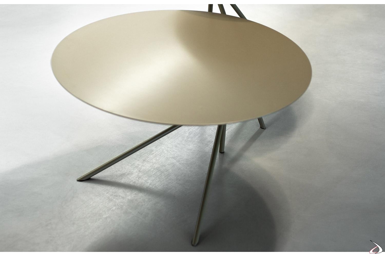 Tavolino di design circolare da soggiorno
