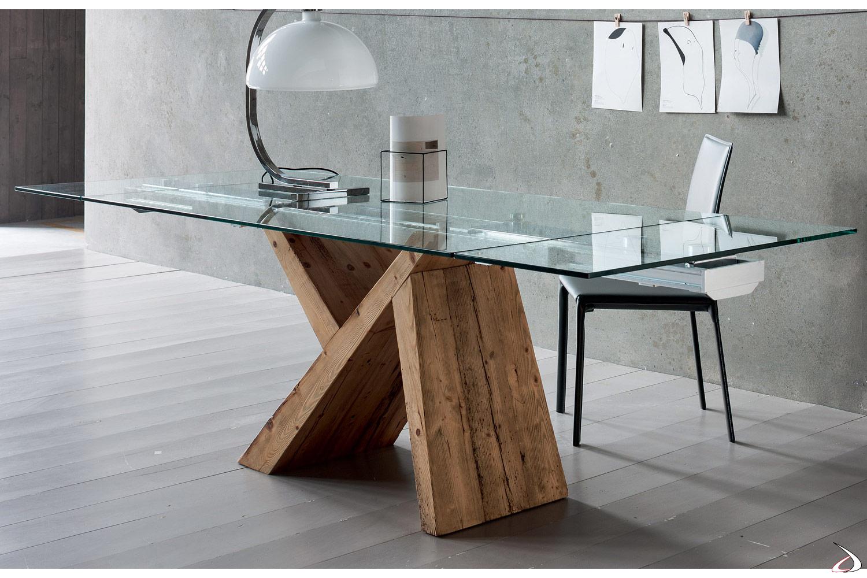 Tavolo di design in vetro venezia toparredi arredo for Tavoli design online