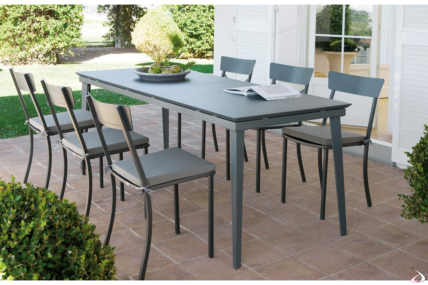 Tavoli Da Esterno Design.Mogan Extendable Outdoor Table Toparredi Arredo Design Online