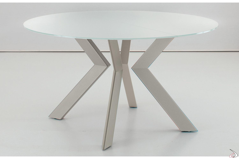 Tavolo Rotondo Vetro Design.Vitrix Extendable Round Table Toparredi Arredo Design Online