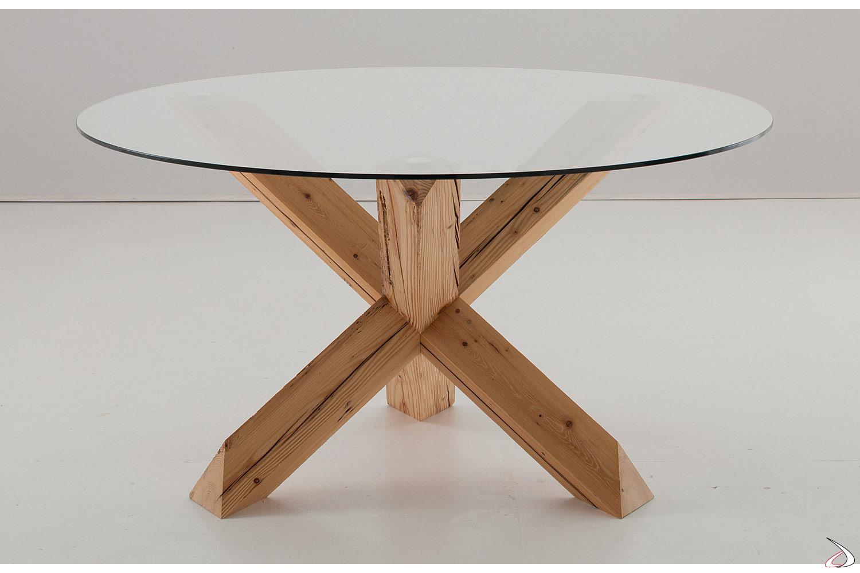 Tavolo Rotondo Vetro Design.Lord Design Round Table Toparredi Arredo Design Online