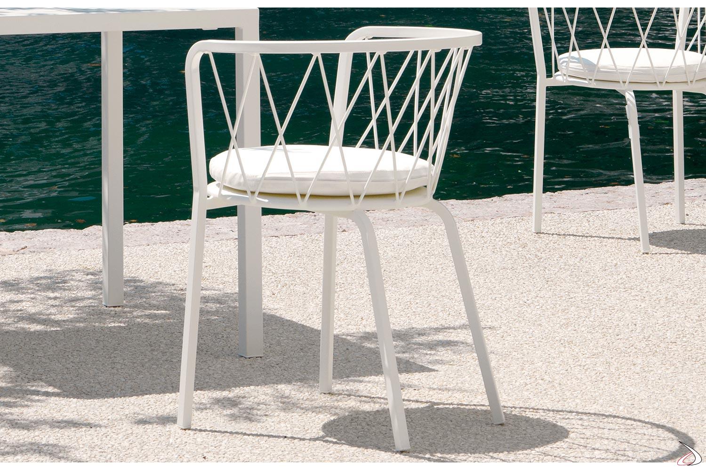 Sedie Da Esterno Design.Sedia Di Design Da Giardino Desiree Toparredi Arredo Design Online