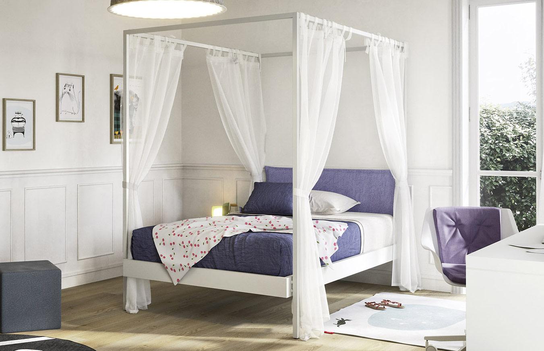 Negozi Tende Per Letto Baldacchino.Kap Modern Canopy Bed Toparredi Arredo Design Online