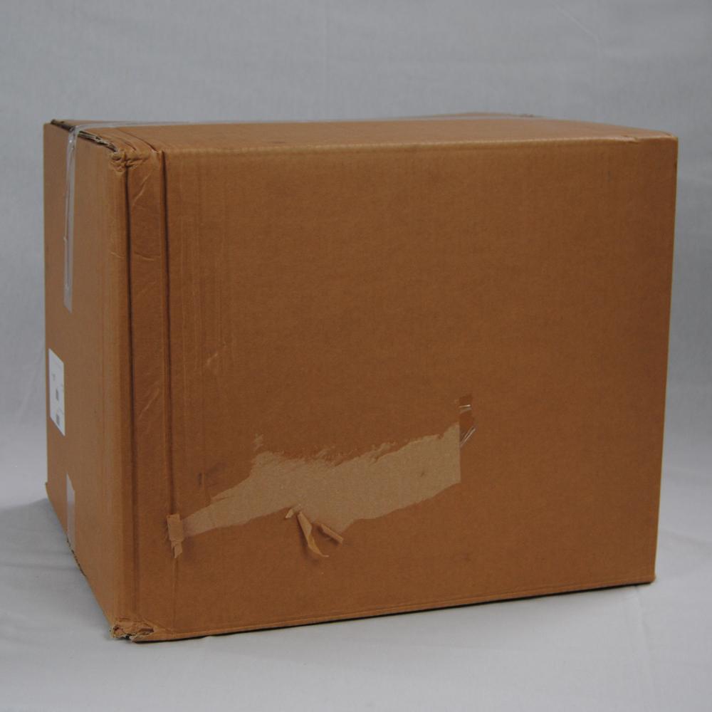 Crushed parcel