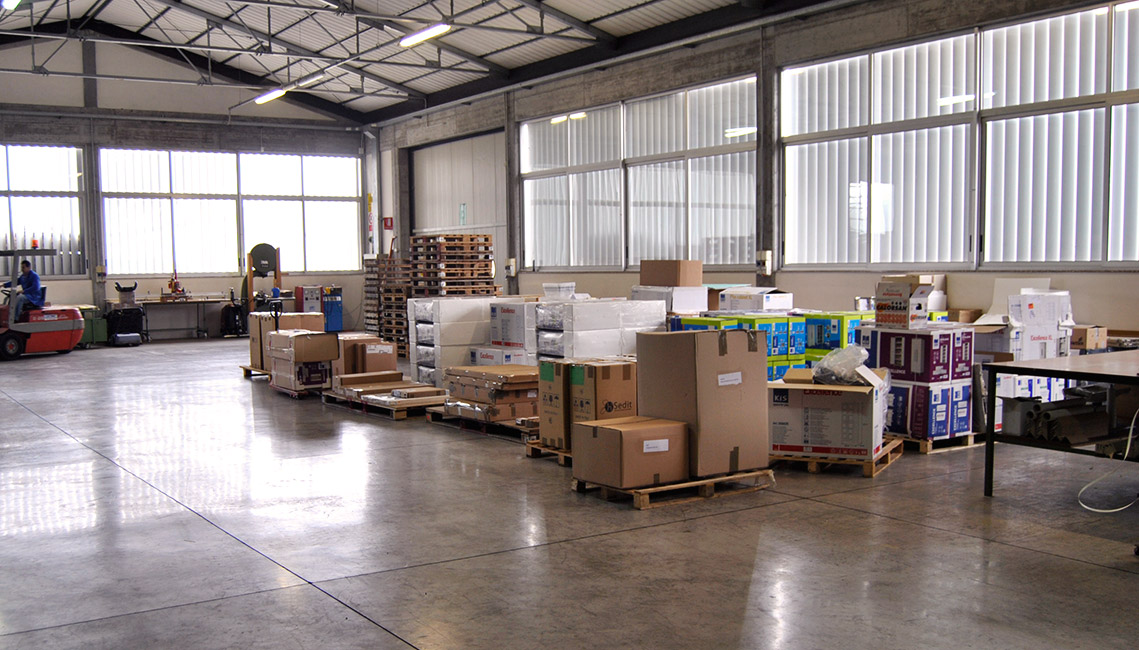 Furniture collection in Warehouse