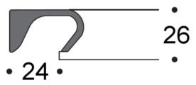 Dettaglio maniglia integrata
