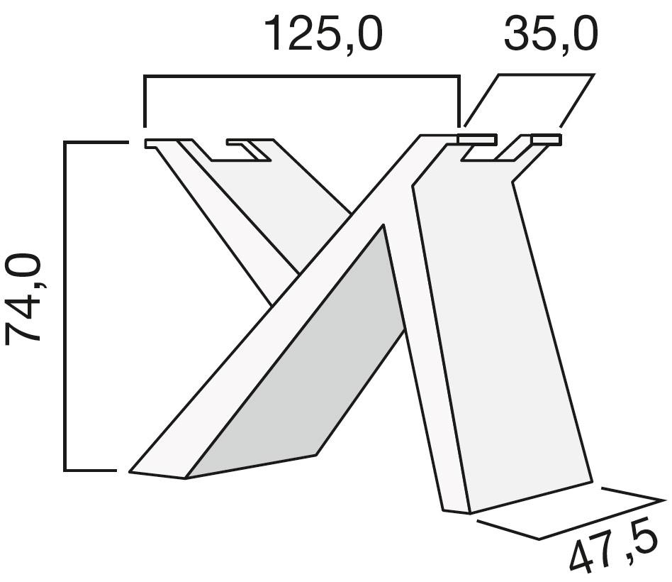 Basamento tavolo grande