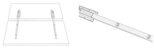 Allungamento tavolo