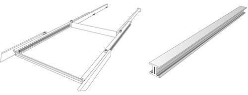 Tavolo moderno allunagbile rasco arredo design online for Tavoli design online